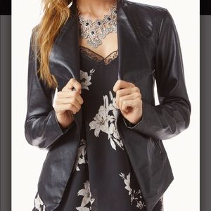 B.B. Dakota medium faux leather jacket